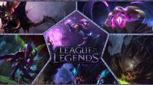 Cho 039 Gath League Of Legends Kha 039 Zix League Of Legends Kog 039 Maw League Of Legends League Of 1920x1080 Wallpaper