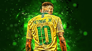 Brazilian Footballer Neymar Soccer 2880x1800 Wallpaper