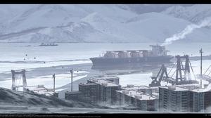 Anime Digital Art Artwork 2D Portrait Haguruma Dock Oil Tanker Snow 2910x1404 Wallpaper