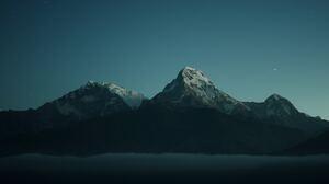 Mountain Night 4717x2984 Wallpaper