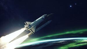 Vehicles Space Shuttle 1920x1200 wallpaper