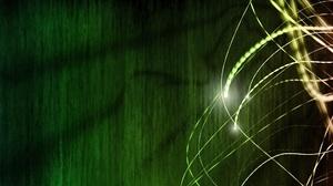 Abstract Artistic Green 1920x1080 Wallpaper