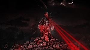 The Predator Movie Predator Alien Sci Fi Laser Night 1920x1300 wallpaper