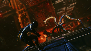 4Gamers Video Games Video Game Art Screen Shot Spider Man Sony PlayStation City Manhattan 1858x1040 Wallpaper