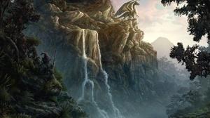 Fantasy Dragon 2560x1600 Wallpaper