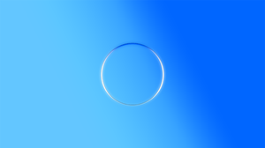 Abstract Circle Blue Gradient 2560x1440 Wallpaper