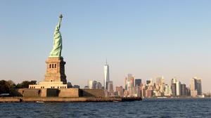 Architecture Building Photography Cityscape Statue Of Liberty USA New York City Skyscraper Manhattan 1920x1080 Wallpaper