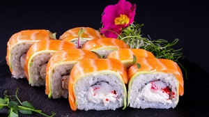 Fish Seafood Sushi 2208x1472 Wallpaper