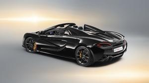 Black Car Car Mclaren Mclaren 570s Spider Sport Car Supercar Vehicle 4096x2304 Wallpaper