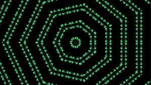 Abstract Artistic Digital Art Kaleidoscope Pattern 4408x2229 Wallpaper