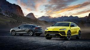 Lamborghini Car Suv Luxury Car Yellow Car Silver Car 4096x2304 Wallpaper