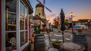 Solvang California Windmill Shop 2048x1365 Wallpaper