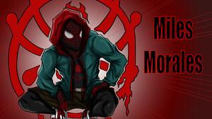 Andre Gerron Spider Man Miles Morales Comic Art Comic Books Concept Art Marvel Comics Artwork Fan Ar 3840x3284 Wallpaper