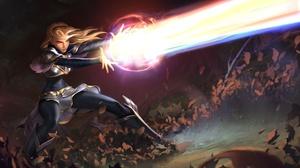 Blonde Girl Legends Of Runeterra Lux League Of Legends Sorceress 3840x2160 Wallpaper