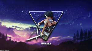 Mikasa Ackerman Shingeki No Kyojin Anime Girls Picture In Picture 1920x1080 Wallpaper