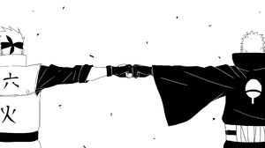 Kakashi Hatake Obito Uchiha 2128x1440 Wallpaper
