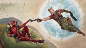 Cable Marvel Comics Deadpool Deadpool 2 5000x3379 Wallpaper