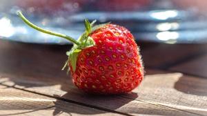 Food Strawberry 3840x2160 Wallpaper