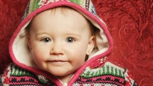 Baby Blue Eyes Face 1600x1200 Wallpaper