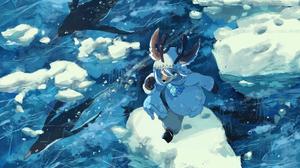 Anthro Bakawasima Ice Water Jacket River Antlers 2001x1500 Wallpaper