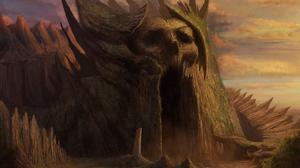 Cave Creepy Dark Fantasy Scary 1920x1322 Wallpaper