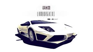 Artistic Car Digital Art Lamborghini Lamborghini Aventador Race Car Sport Car White Car 3000x1688 Wallpaper