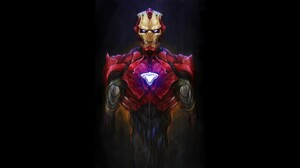 Comics Iron Man 1920x1080 Wallpaper