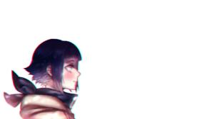 Hyuuga Hinata Anime Girls Chromatic Aberration Hoods 1920x1080 Wallpaper