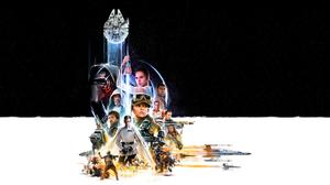 Star Wars Kylo Ren Oscar Isaac Jyn Erso Diego Luna Ben Mendelsohn Cassian Andor Donnie Yen Luke Skyw 3500x2000 Wallpaper