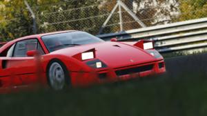 Assetto Corsa Ferrari F40 Nordschleife Pop Up Headlights 1920x1080 Wallpaper