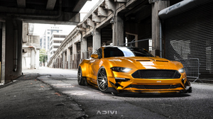Ford Mustang Car Vehicle Yellow Cars Ford 3840x2160 Wallpaper