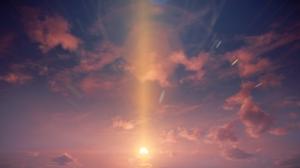 Cloud Sky Sun 1920x1080 Wallpaper