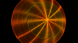 Chaoscope Software Circle Orange Color Shapes 1600x1200 wallpaper