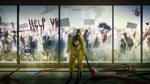 Zombie 3840x1920 wallpaper