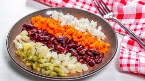 Beans Carrot Cucumber 3000x2000 Wallpaper