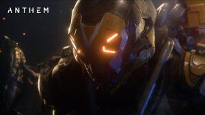Anthem Video Games Glowing Eyes PC Gaming 1920x1080 Wallpaper