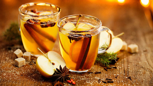 Apple Cinnamon Drink Mulled Wine Spices 1920x1200 Wallpaper
