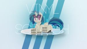 Dj Pon 3 My Little Pony Vector Vinyl Scratch 1920x1080 wallpaper