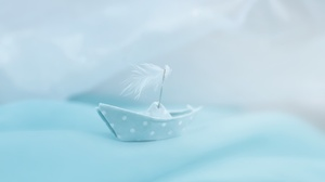 Paper Boat 2048x1365 wallpaper
