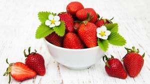Berry Fruit Strawberry 3596x2418 wallpaper