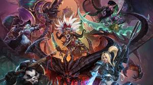Anub 039 Arak World Of Warcraft Chen Stormstout Diablo Heroes Of The Storm Illidan Stormrage Nova St 1920x1322 Wallpaper