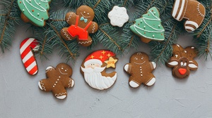 Christmas Cookie Gingerbread 5760x3840 Wallpaper