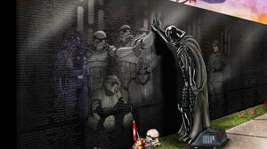 Anakin Skywalker Darth Vader Death Memorial Star Wars 3000x2076 Wallpaper