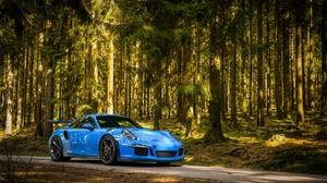 Blue Car Car Porsche Porsche 911 Porsche 911 Gt3 Sport Car Vehicle 2048x1249 Wallpaper