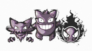 Gastly Pokemon Gengar Pokemon Ghost Pokemon Haunter Pokemon Pokemon 1920x1080 wallpaper