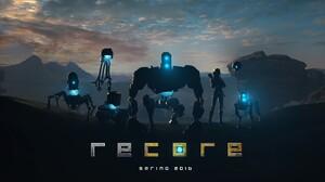 ReCore Video Games Cyan Robot 1920x1080 Wallpaper