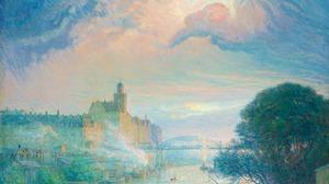 Erik Tryggelin Illustration Traditional Art Pastel 3000x2466 Wallpaper