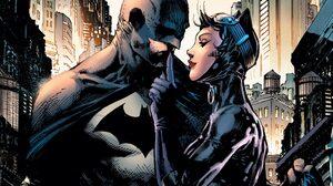Batman Catwoman DC Comics Superhero Costumes Mask Comics Comic Art Fantasy Art Artwork 1920x1080 Wallpaper
