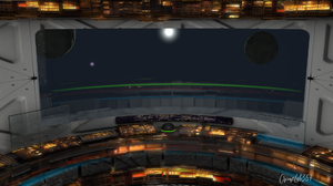 Space Art Spaceship CGi Render Science Fiction 1920x1080 Wallpaper