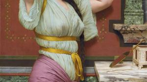 Artwork Painting Greek Greece Classic Art Women 1499x2000 Wallpaper